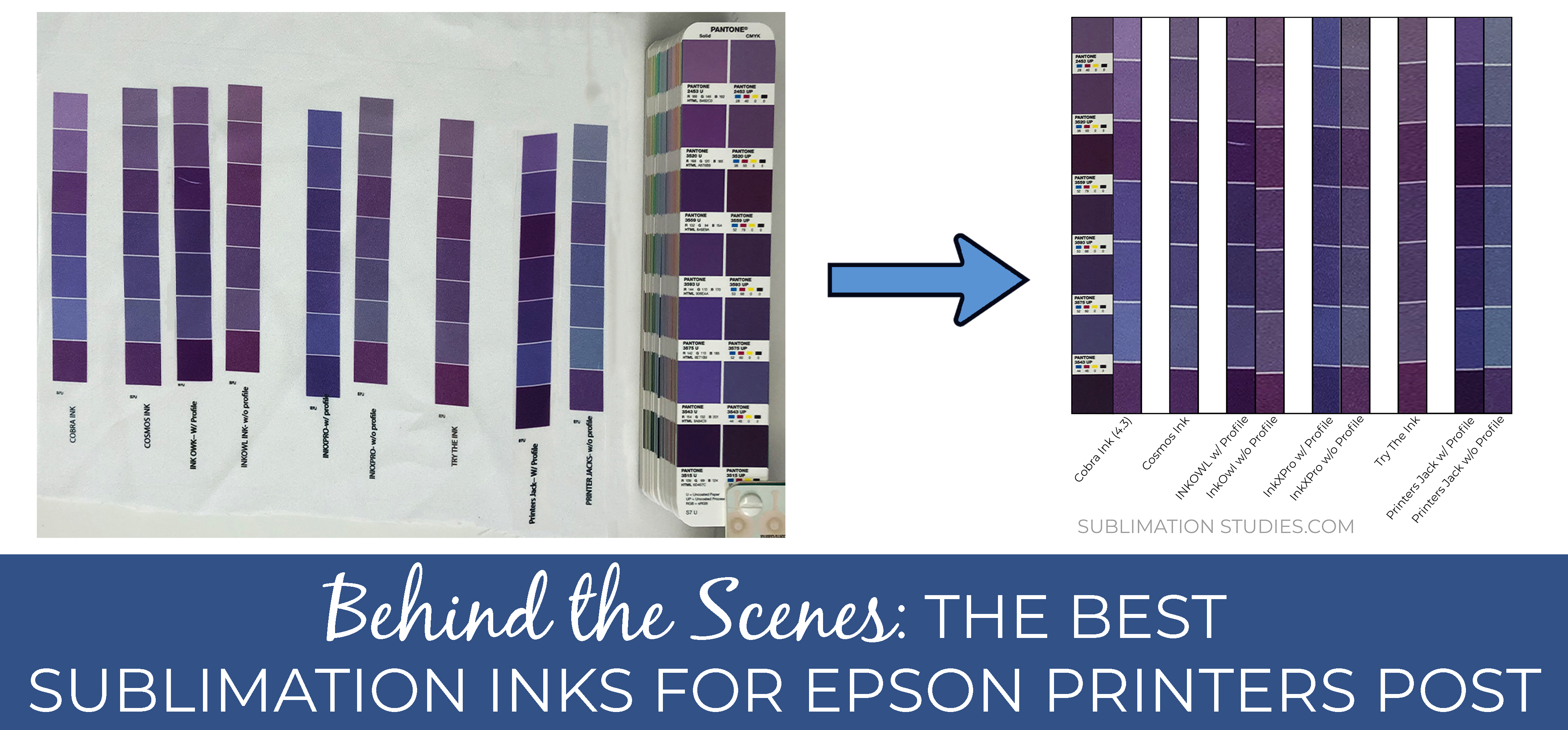Behind The Scenes Of: The Best Sublimation Inks for Epson