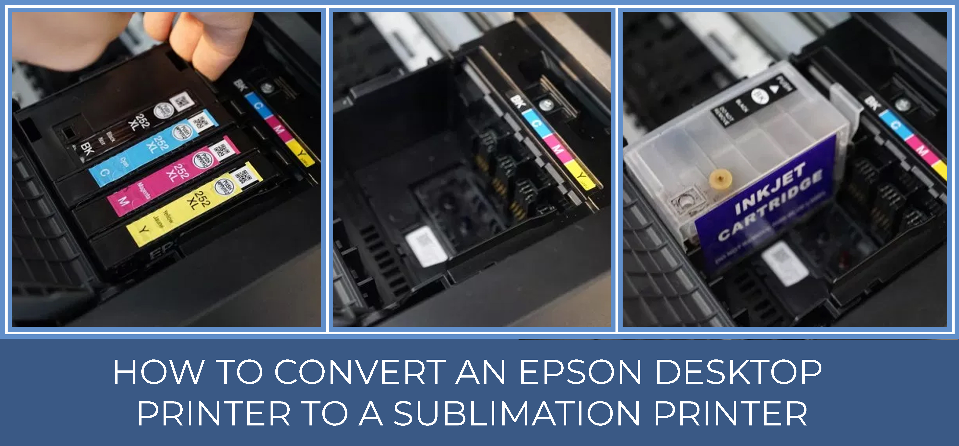 How to Convert an Epson Desktop Printer to a Sublimation